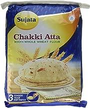 Sujata Chakki Atta, Whole Wheat Flour, 20-Pound Bag