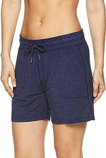 Gaiam 女式 Warrior 瑜伽短裤 - 自行车和跑步运动短裤,带口袋