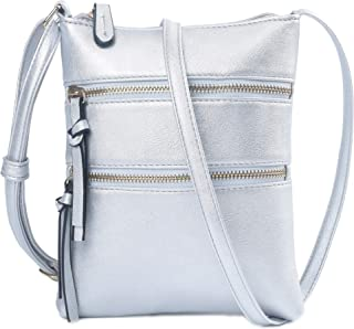 Lightweight Pu Leather Crossbody Purses Bags Small Purse with Multi Pockets for Women Girls