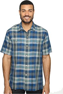 Paratay Plaid Short Sleeve Woven Shirt