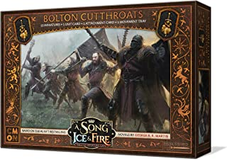 CoolMiniOrNot Current Edition A Song of Ice and Fire Bolton Cutthroats Board Game