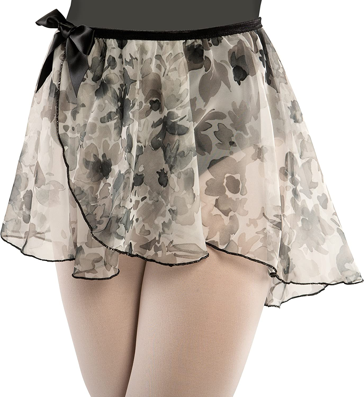 Children's Chiffon Floral Dance Skirt