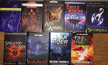 Alex Rider Hardcover Series Set by Anthony Horowitz books 1-9