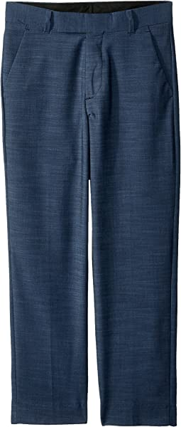 Calvin Klein Kids Plain Weave Pants (Big Kids)