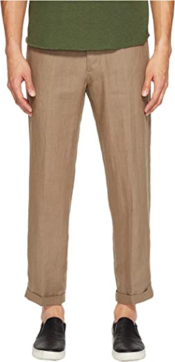 Hemp Cropped Trousers