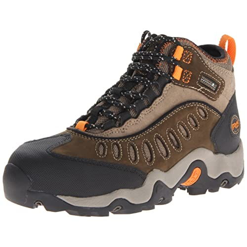 ff3179b22c547 Timberland PRO Men s Mudslinger Mid Waterproof Lace-Up Fashion Sneaker