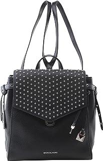 c8dae5be8760 MICHAEL Michael Kors Women s Bristol Leather Studded Medium Backpack in  Black
