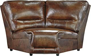 Ashley Furniture Signature Design U7660077 - Jayron Wedge Sofa - Wedge Component ONLY - Harness Brown - Contemporary