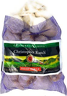 2 Pound Fresh Garlic USA California Heirloom Gilroy Finest, Pack of 1