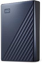 WD5Tb MyPassportUltra Blue Portable External Hard Drive, USB-C - WDBFTM0050BBL-WESN