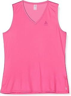 Odlo Suw Top V-hals Singlet Active F-Dry Ligh T-shirt voor dames