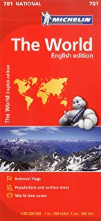 Michelin World Map 701 (Maps/Country (Michelin))