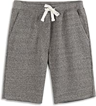 HARBETH Men's Casual Soft Cotton Elastic Fleece Jogger Gym Active Pocket Shorts