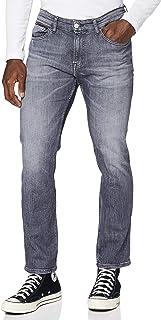 Tommy Jeans Homme SCANTON SLIM MNGRST Pantalon, Midnight Grey Str, W30/L32