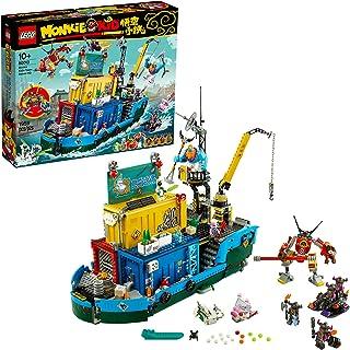 LEGO Monkie Kid: Monkie Kid's Team Secret HQ 80013...