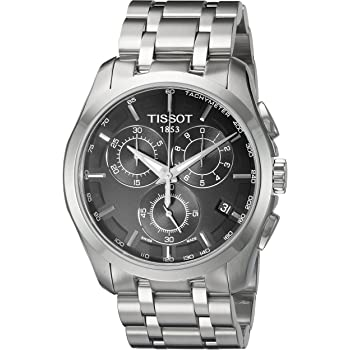 T0356171105100 Tissot Men's Quartz Stainless Steel Link Bracelet Watch