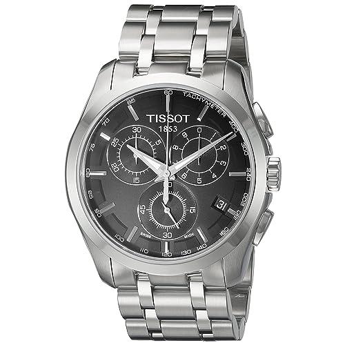 T0356171105100 Tissot Mens Quartz Stainless Steel Link Bracelet Watch