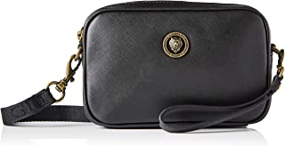 Guess King Small NECESSAIRE - Bolsas Crossbody para hombre, color negro, talla única