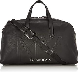 Calvin Klein - Shaped Large Duffle, Shoppers y bolsos de hombro Hombre, Negro (Black), 0.1x0.1x0.1 cm (W x H L)