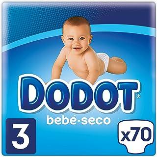 Dodot Bebé-Seco Pañales Talla 3, 70 Pañales, el unico Pa
