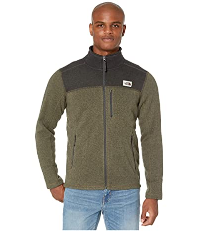 The North Face Gordon Lyons Full Zip (New Taupe Green Heather/TNF Dark Grey Heather) Men