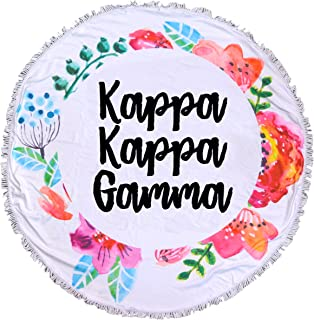 Sorority Shop Kappa Kappa Gamma - Fringe Towel - Blanket