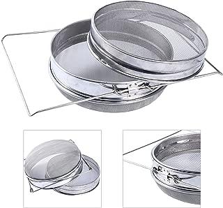 YaeKoo 304 Stainless Steel Double Sieve Beekeeping Equitment Filter
