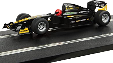 Scalextric Start F1 Style Racing Car G Force Racing 1:32 Slot Race Car C4113