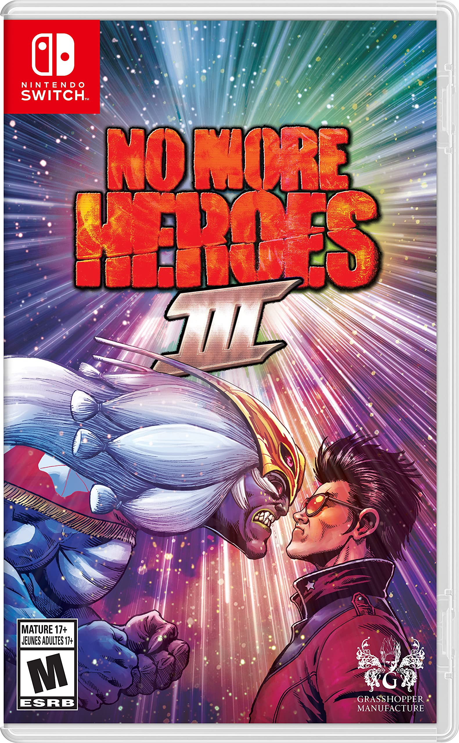 Poster. No More Heroes 3