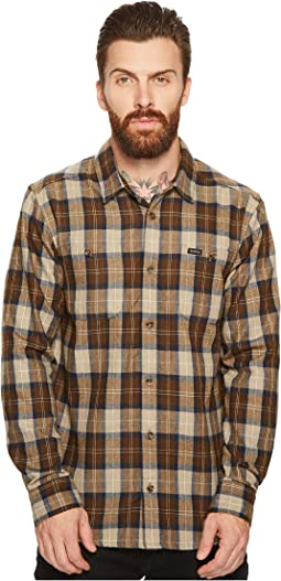 RVCA - Bone Flannel Long Sleeve Shirt