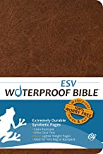 Waterproof Bible - ESV - Brown