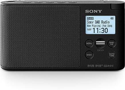 Sony XDR-S41D radio digitale portatile, con DAB+,FM, 87.5 - 108 MHz, 174.928 - 239.2 MHz, Auto tuning, nero