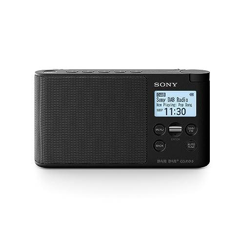 Sony XDR-S41D Radio Portable Digitale DAB/ DAB+/ FM RDS Noir