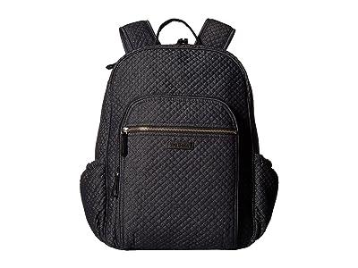 Vera Bradley Iconic Campus Backpack (Denim Navy) Backpack Bags