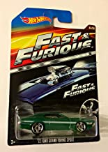 HOT WHEELS 2015 FAST AND FURIOUS RELEASE EXCLUSIVE GREEN '72 FORD GRAND TORINO SPORT #4/8 DIE-CAST