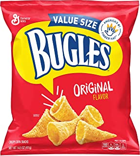 Bugles Original Flavor Snack Mix Bag, 14.51 Ounce (Pack Of 6)