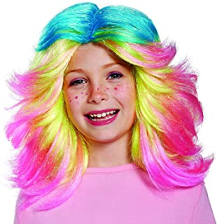 Inc - Trolls- Lady Glitter Sparkles Child Wig