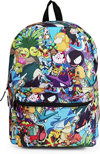 FAB Starpoint Pokemon Character Mashup Backpack School Bag