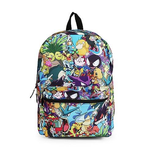 Pokemon Character Mashup Backpack School Bag e15a0503fd0d3