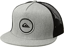 a90148b739ea1 Arcteryx logo trucker hat anvil grey