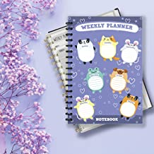 """WEEKLY PLANNER NOTEBOOK: is a notebook for planning weeks and """"freeing"""" time for busy people. is a notebook for planning weeks and """"freeing"""" time for busy people. Size: 6*9 (inch), 200 pages"""