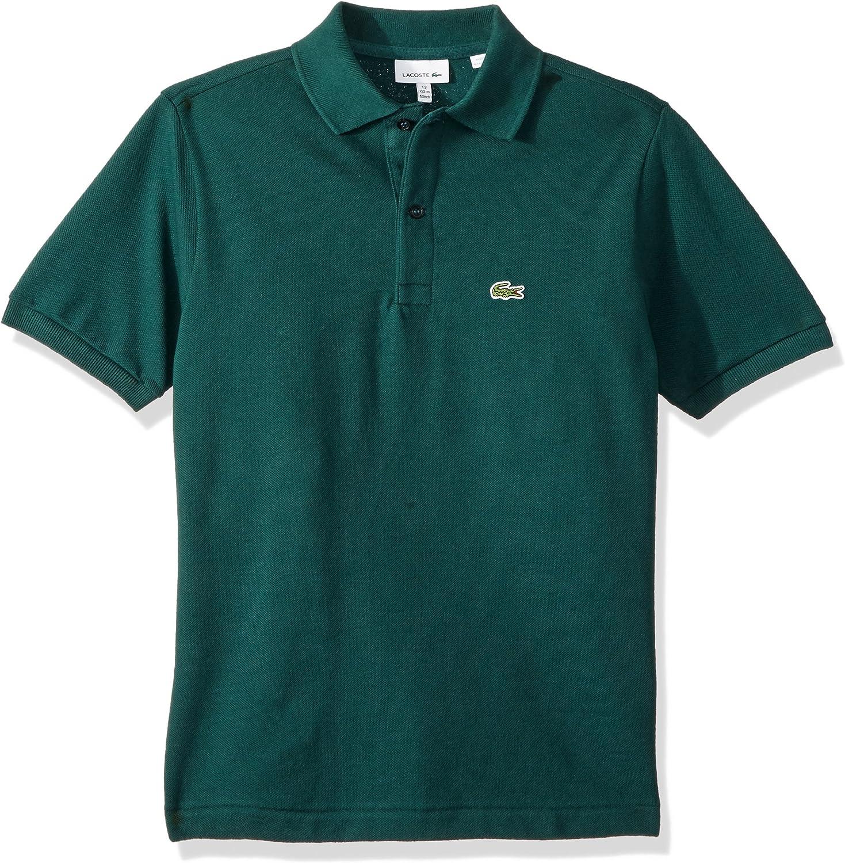 Lacoste Boys' Short Sleeve LegacyPique Polo Shirt