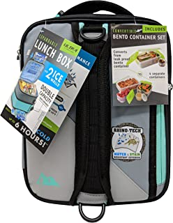 Arctic Zone 1 Expandable Lunch Box, 1, Light Gray