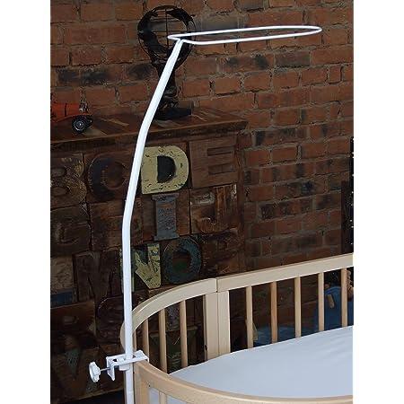 Comfort Baby® baldacchino/supporto per baldacchino, altezza complessiva 1,50m in bianco