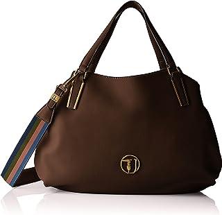 bc96d44a5bee5d Trussardi Jeans Rabarbaro Medium Tote Bag, Borsa Donna, 39x20x13 cm (W x H