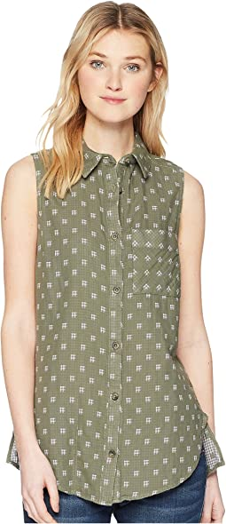 Trail On Sleeveless Shirt