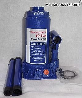 Mehar sons exports 10 Ton-Hydraulic Jack (Medium, Red)