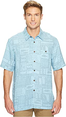 Quiksilver Waterman - Maludo Bay Short Sleeve Woven Shirt