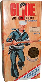G.I. Joe World War II Action Sailor 1996 Limited Edition 50th Anniversary Commemorative Series 12 Inch Numbered Figure