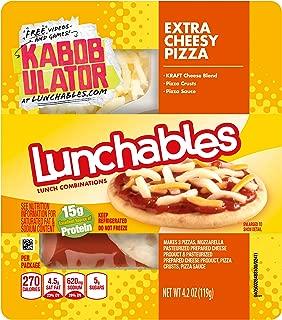 Lunchables Extra Cheesy Pizza (4.2 oz Tray)